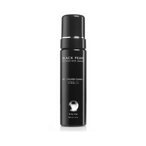 Black Pearl Face Mousse Cleanser  - 200 ml
